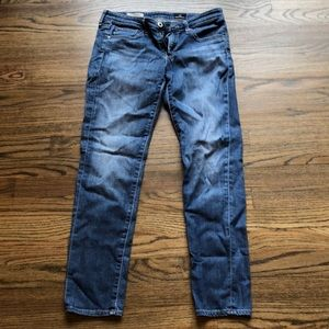 The Stevie Ankle Jeans -  Slim Straight - size 26